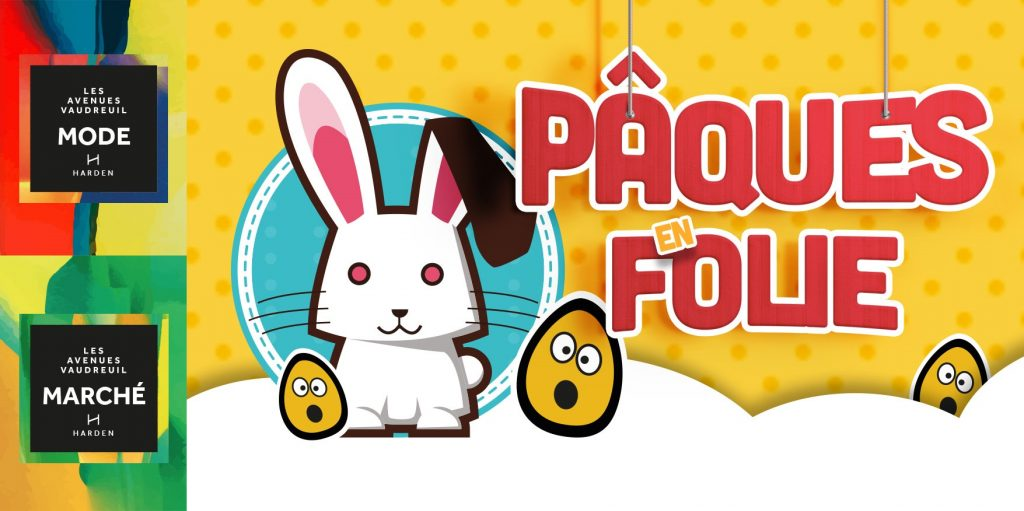 Event for everyone: Pâques en folie!