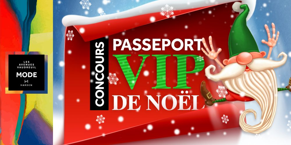 Concours Passeport VIP de Noël