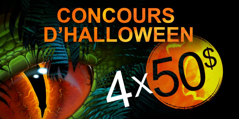 Concours d'Halloween