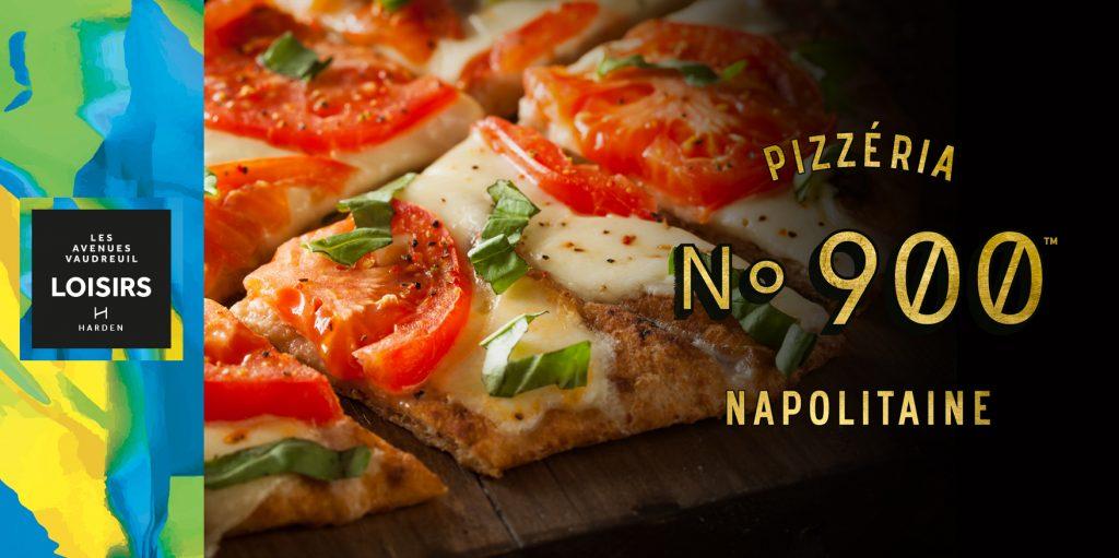 No. 900 Pizzéria Napolitaine: Maintenant ouvert