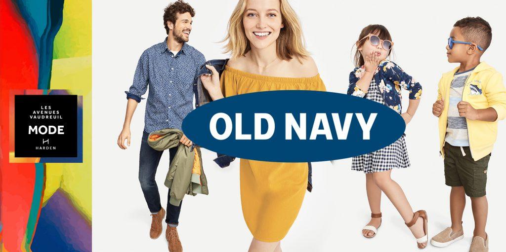 Old Navy bientôt à l'Avenue Mode