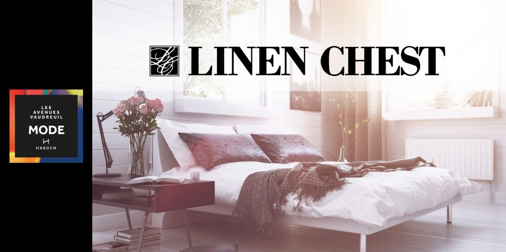Linen Chest opening in 2019 at Avenue Mode