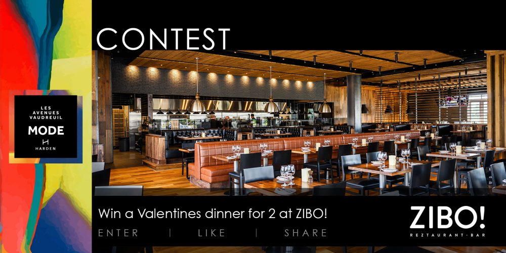 Win a Valentines dinner for 2! *Now closed*
