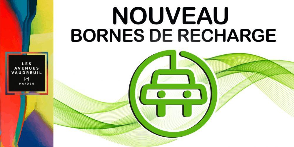 Encore plus de services : bornes de recharges pour véhicules électriques