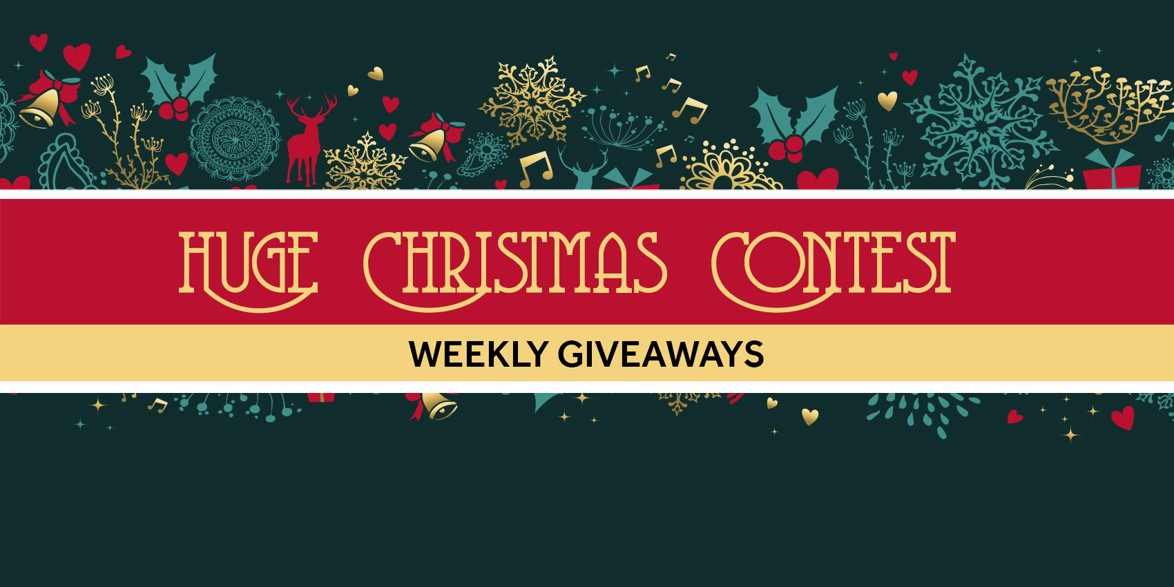 """From Us. To You."" Huge Christmas Contest."