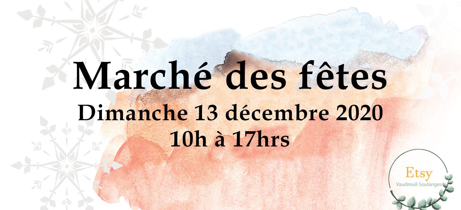 Marché local des fêtes aux Avenues Vaudreuil