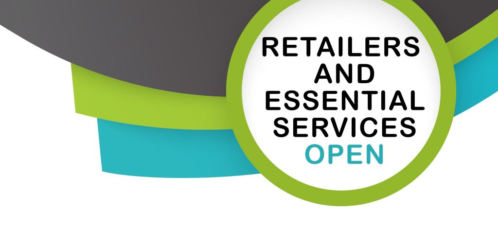 Only essential retailers and services are open until February 8th