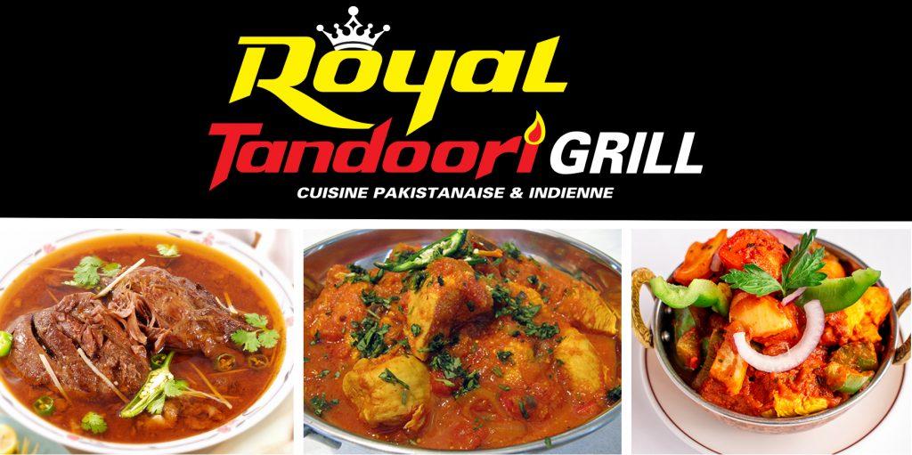 Le restaurant Royal Tandoori Grill est maintenant ouvert