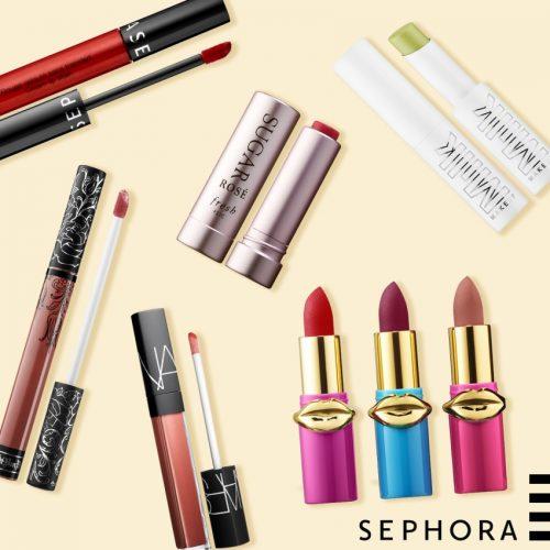 Célébrez la journée nationale du rouge à lèvres chez Sephora